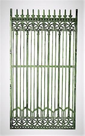 Cast Fence Panel