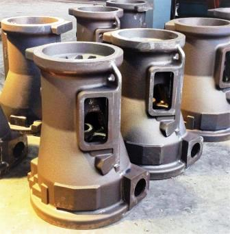 Large CI Body Sand Casting