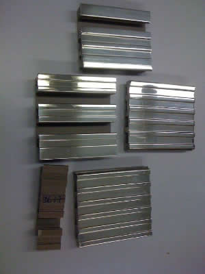 Nickel Silver Extrusions Custom Nickel Extruded Profiles
