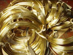 Brass Coils for Redrawing