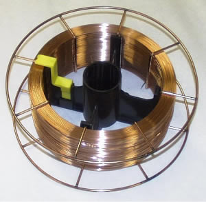 Welding Wire on Steel Spool
