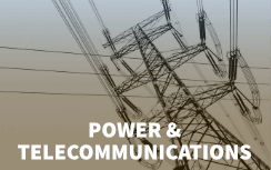 POWER AND TELECOMMUNICATIONS
